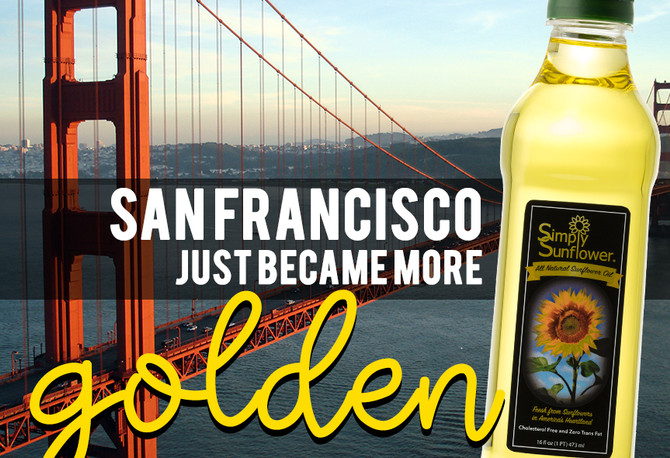 Available in the Golden State!