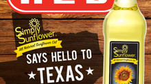 Simply Sunflower Oil in Texas!