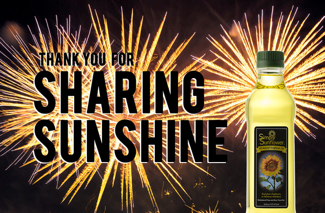 Thank You for Sharing Sunshine!