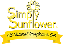All Natural Simply Sunflower Oil Logo