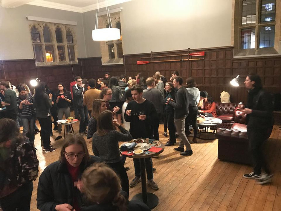 Oxford's First Vegan Wine and Cheese Night
