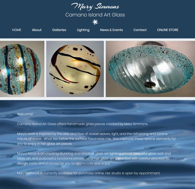 Camano Island Art Glass