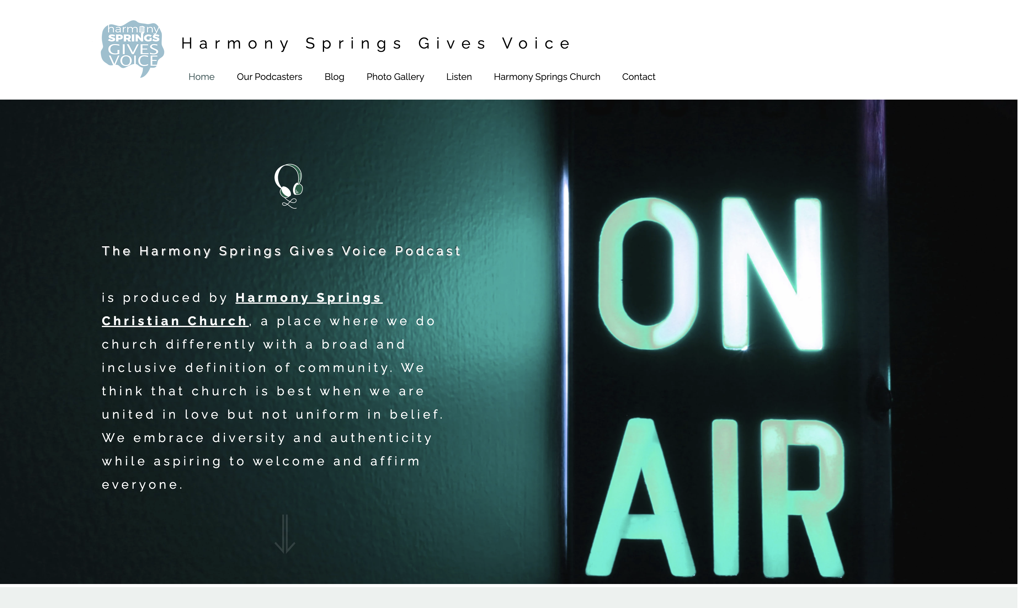 Harmony Springs Gives Voice Project