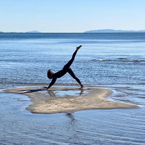 Yoga Leap, Anne Bergeron