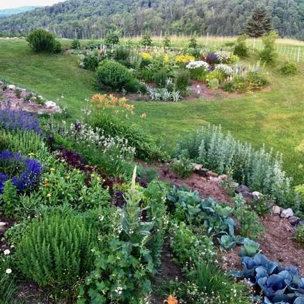 Vermont Garden, Anne Bergeron