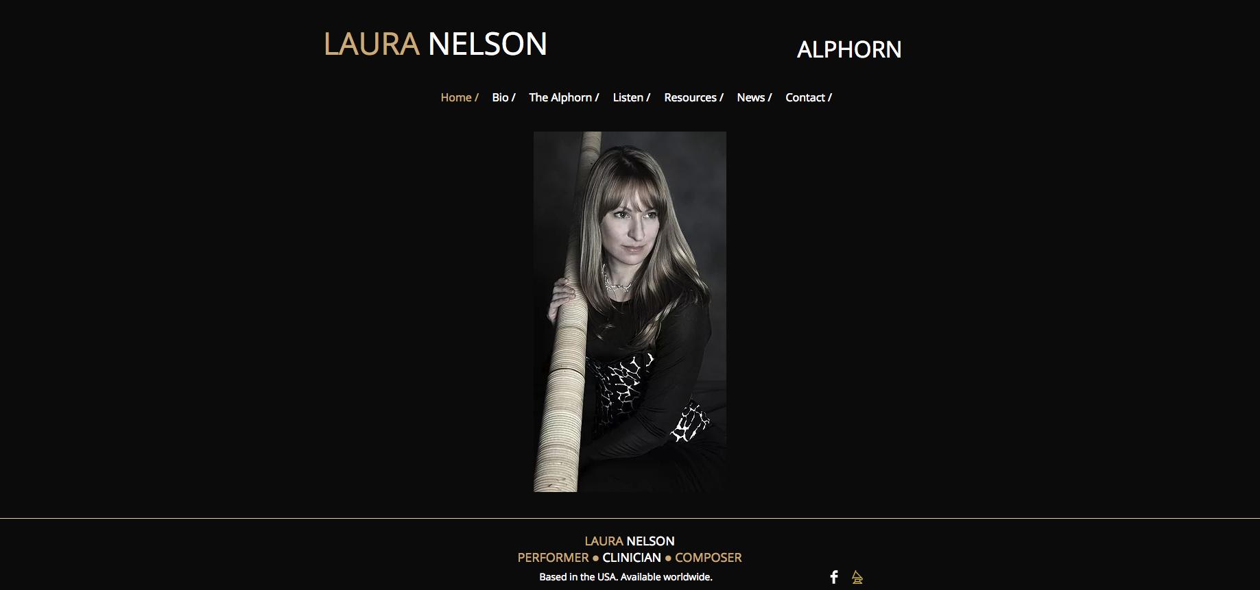 Laura Nelson Alphorn