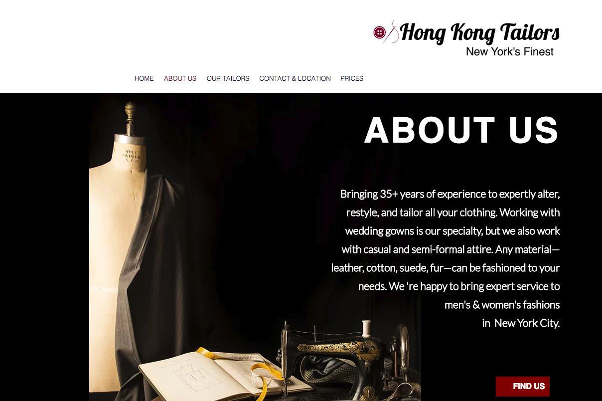 Hong Kong Tailors