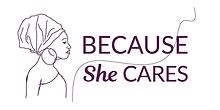 Logo, Because She Cares