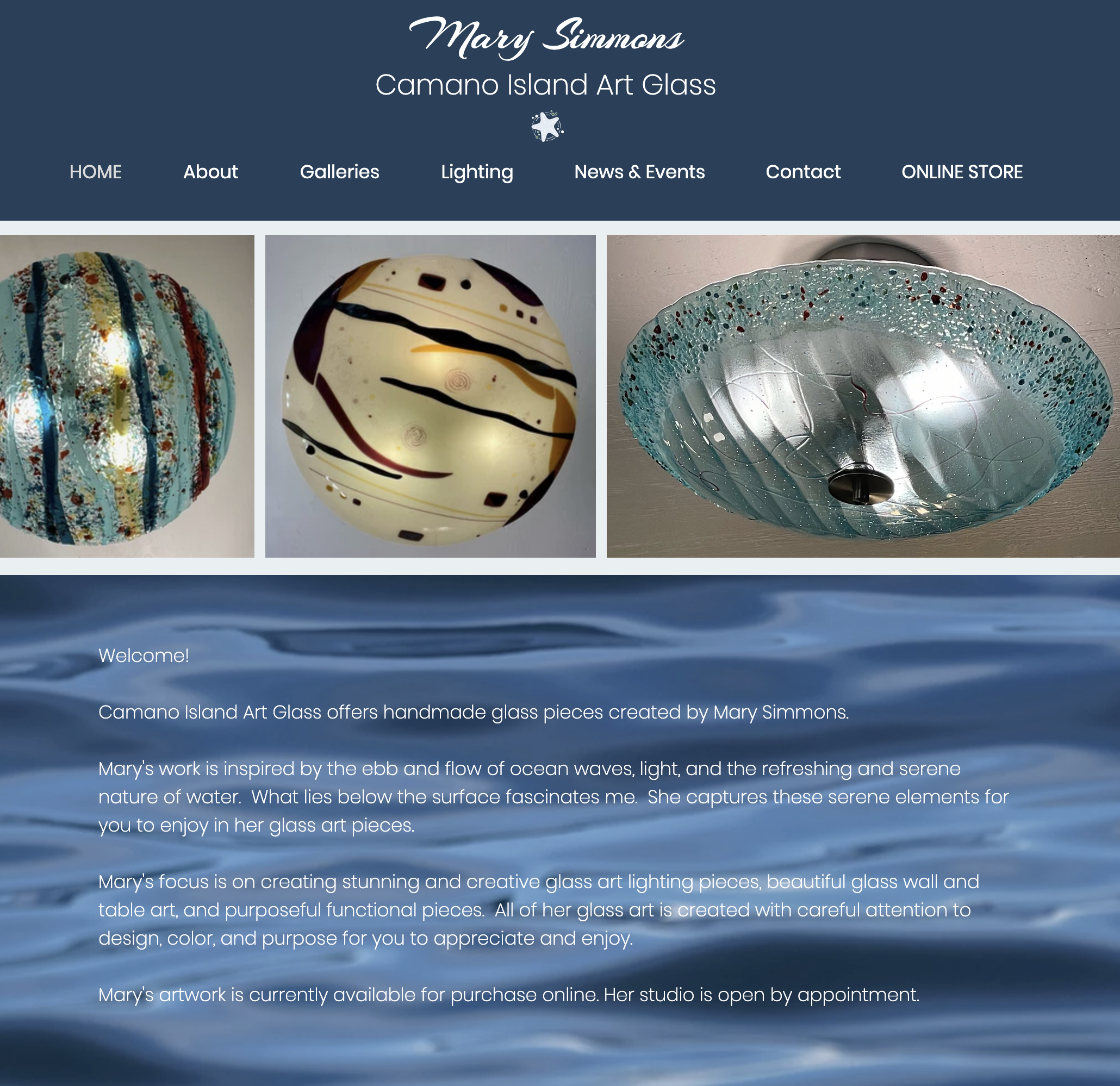 Camano Island Art Glass