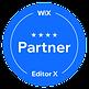 Wix Partner Badge, Web Design by Dena Testa Bray, LLC