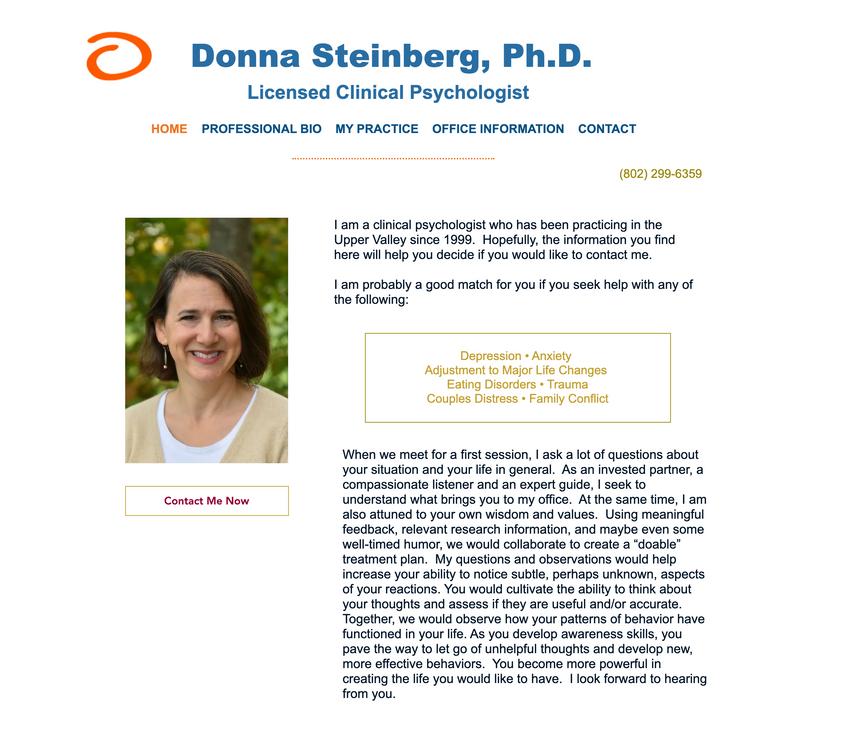 Dr. Donna Steinberg