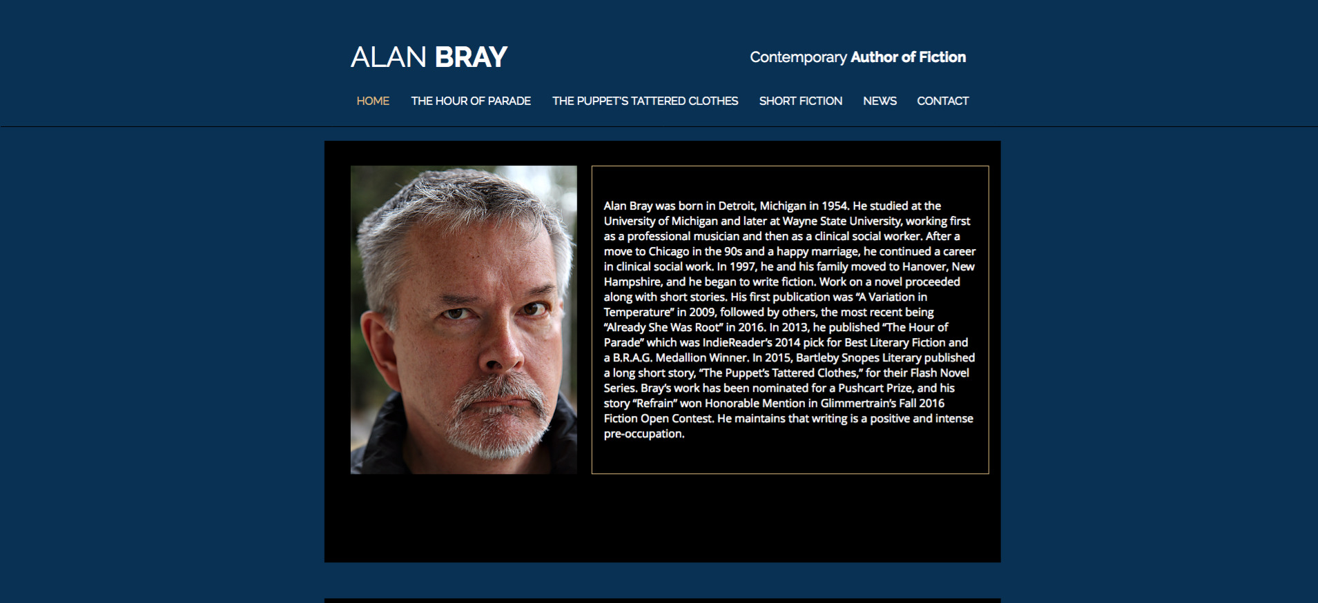 Alan Bray Fiction