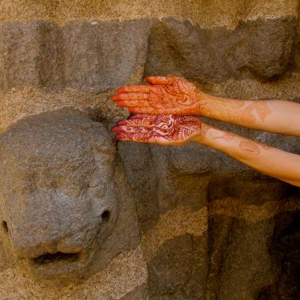 Henna Hands, Anne Bergeron