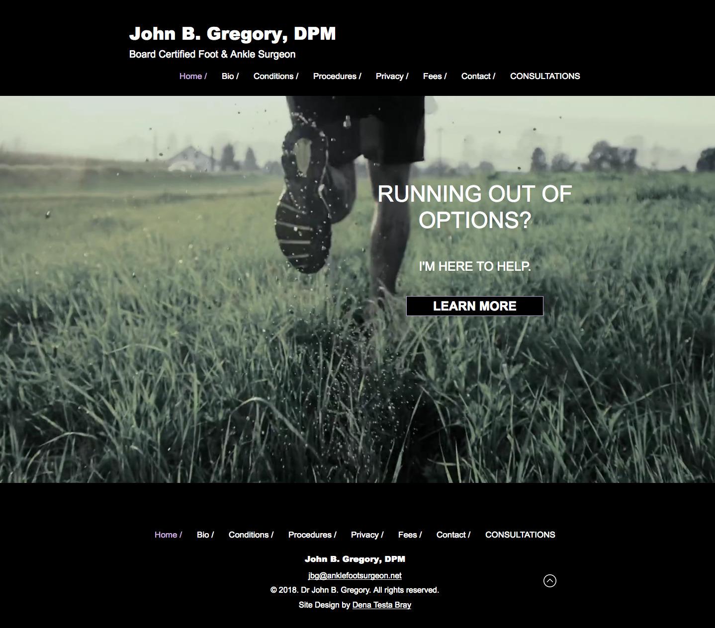 Dr. John Gregory