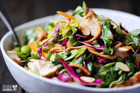 Simple Tasty Asian Chicken Salad