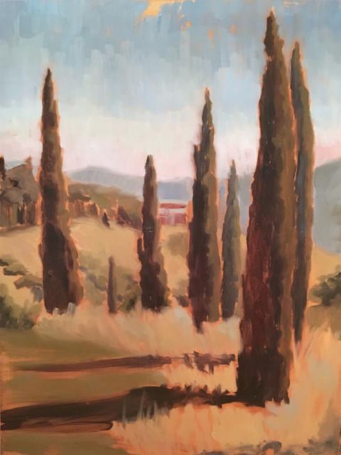 Cypress in Reschio