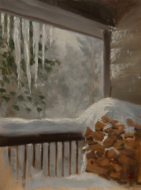 Snowstorm at the Noel's