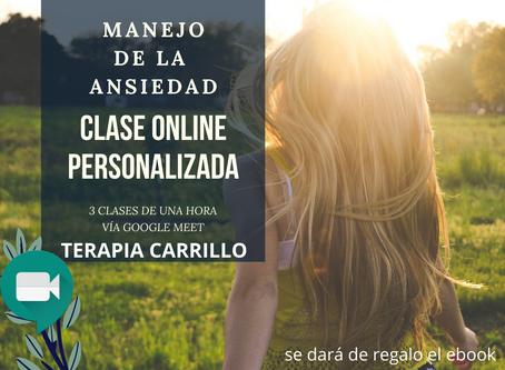 CURSO MANEJO DE LA ANSIEDAD