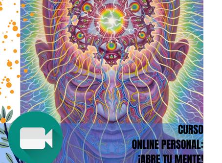 Curso online personal: ¡Abre tu mente!