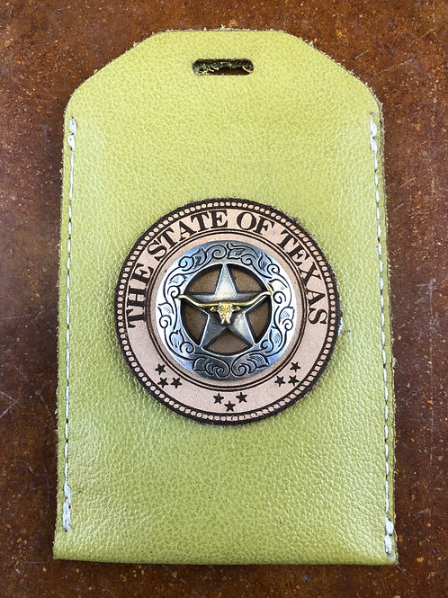 Green ID Badge Holder