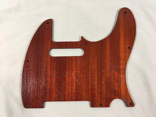 Fender Telecaster Wood Pickguard Padauk