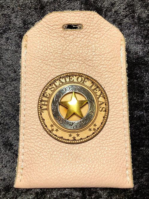 Pink ID Badge Holder