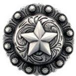 Silver Star Berry Concho