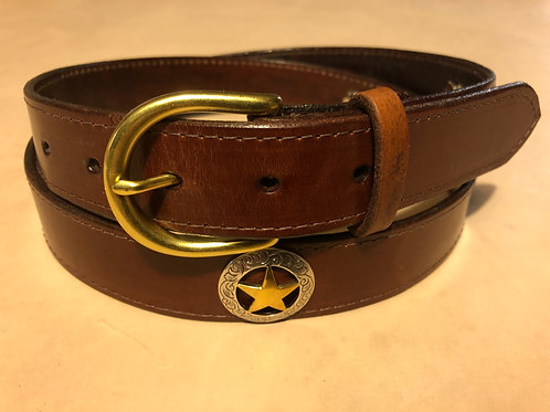 Brown Ranger Star Belt
