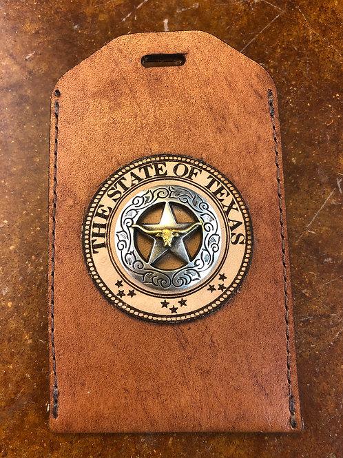 Ranger Tan ID Badge Holder