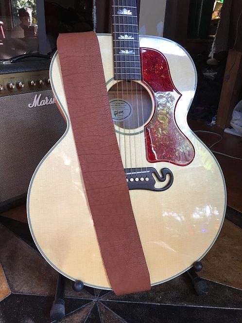 Bison Leather Guitar Strap