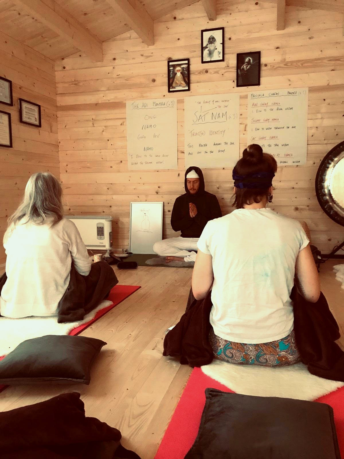 Kundalini Yoga In The Cabin