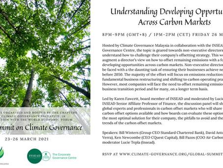 Understanding Opportunities Across Carbon Markets