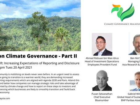 Increasing Expectations on Reporting and Disclosure