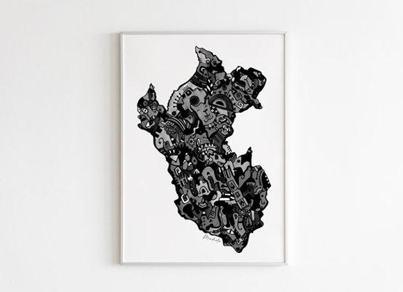 Perú Abstracto III