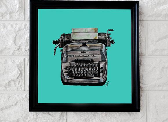 Máquina de escribir - El Resplandor