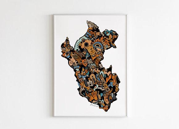 Perú Abstracto II