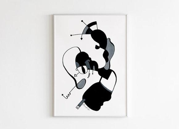 Rostro Abstracto II