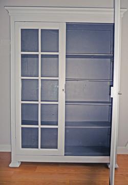 armoire repeinte