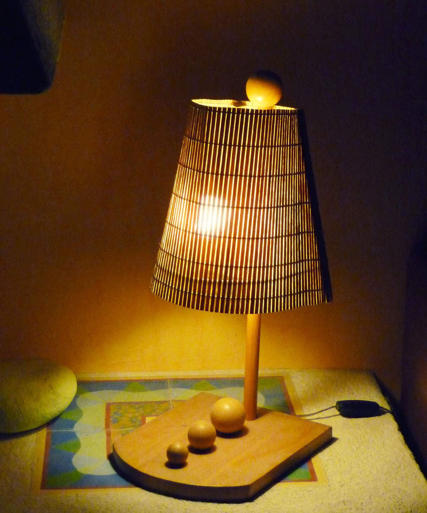 lampe courrier