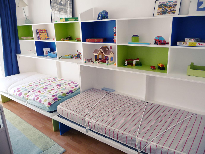 lits bibliothèque ouverts