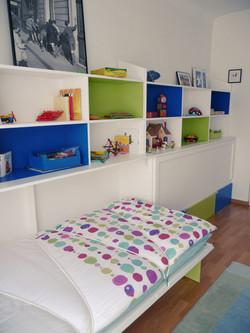 lits bibliothèques (un lit ouvert).
