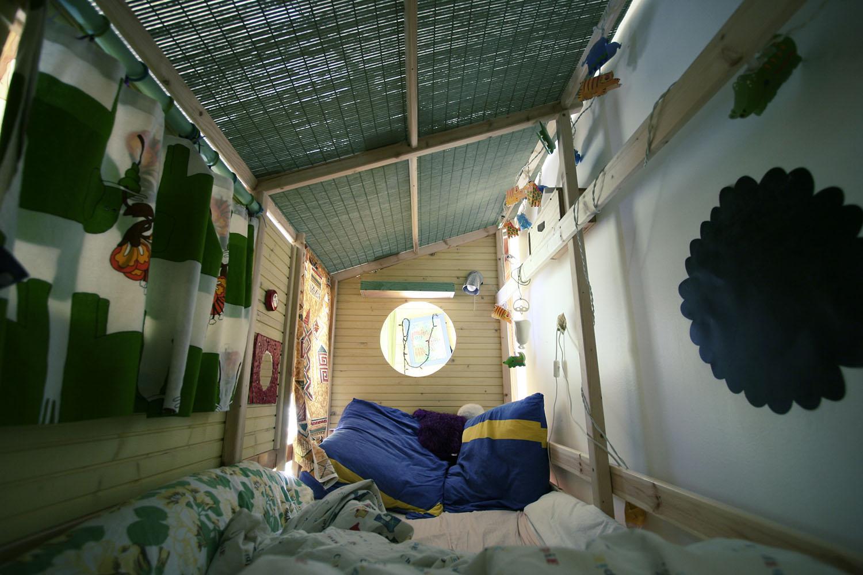 chambre enfant (interieur du lit cabane)