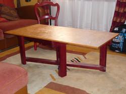 table salon en triply