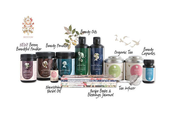 Bestow Beauty range