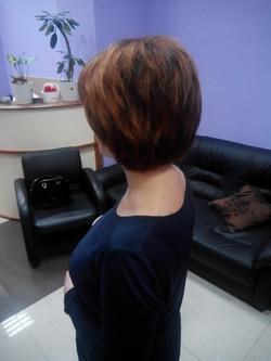 Работа парикмахера женского зала 2