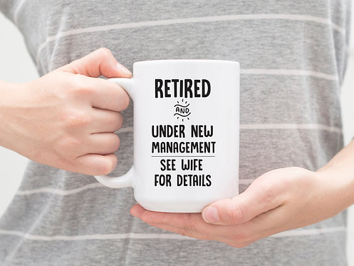 funny retirement coffee mug gift