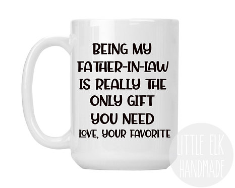 father in law mug