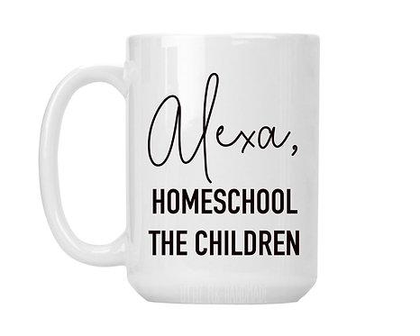Alexa, Homeschool The Children mug