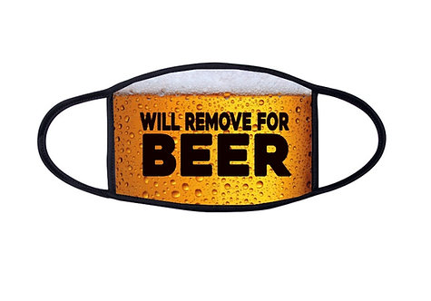 will remove for beer face mask