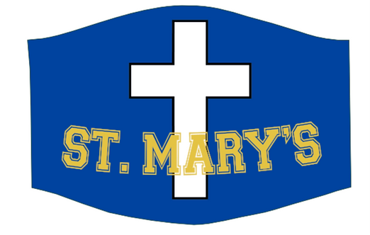 st mary rockets School face mask